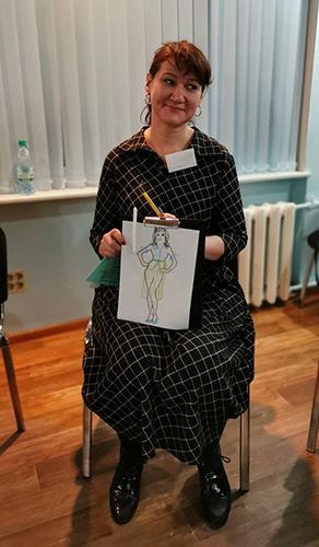Екатерина Коченкова в проекте модель плюс3